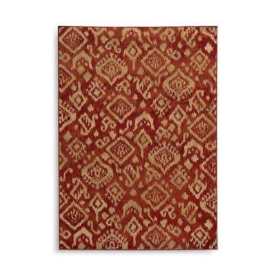 Oriental Weavers Ella Tribal 5-Foot 3-Inch x 7-Foot 3-Inch Area Rug in Red