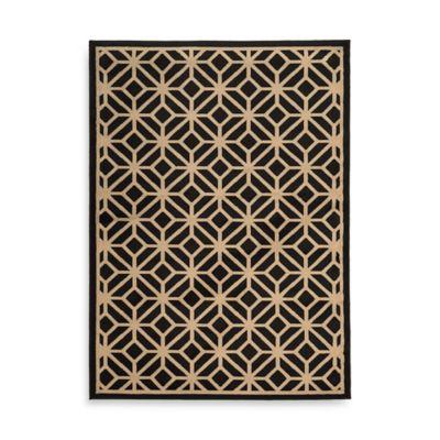 Oriental Weavers Ella Geometric Circles 7-Foot 10-Inch x 10-Foot Area Rug in Black