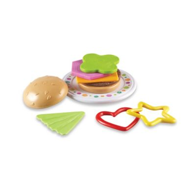 Learning Resources Bright Bites™ Burger Shapes