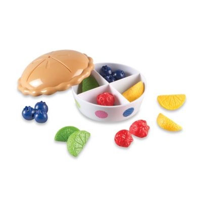 Learning Resources Bright Bites™ Color Fun Fruit Pie
