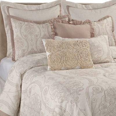 Sherry Kline Retreat Queen Comforter Set in Linen