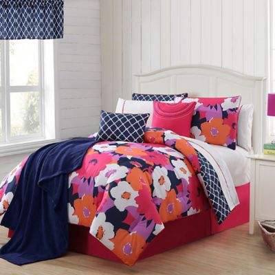 VCNY 13 Piece Taylor Reversible Full Comforter Set