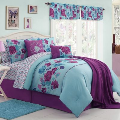 VCNY 11-Piece Lilian Twin Comforter Set