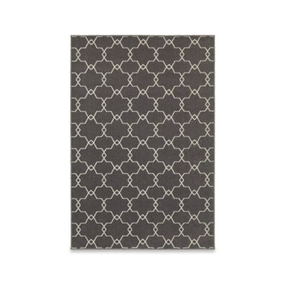 Oriental Weavers Hampton Trellis 10-Foot x 10-Foot Area Rug in Grey/Ivory