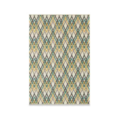 Oriental Weavers Hampton Hatch 6-Foot 7-Inch x 9-Foot 6-Inch Area Rug in Ivory