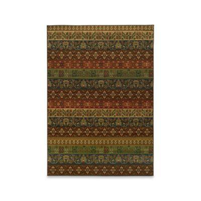 Oriental Weavers Parker Tribal 6-Foot 7-Inch x 9-Foot 6-Inch Area Rug in Multicolor