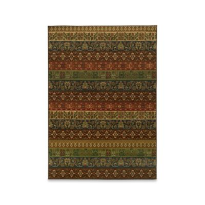 Oriental Weavers Parker Tribal 9-Foot 10-Inch x 12-Foot 10-Inch Area Rug in Multicolor