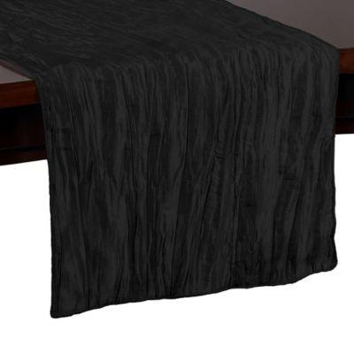 Delano 54-Inch Table Runner in Black