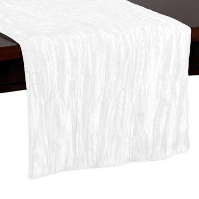 Delano 54-Inch Table Runner in White