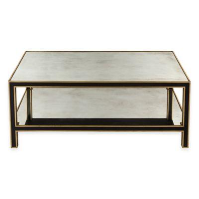 Safavieh Cambria Coffee Table in Black/Gold