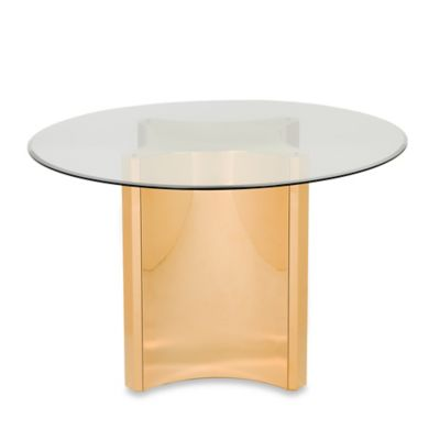 Safavieh Aiza Dining Table in Gold