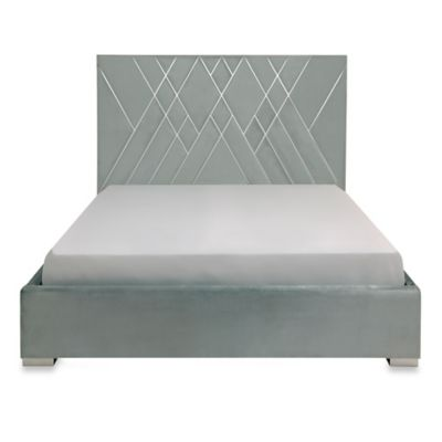 Safavieh Bermudez King Bed in Blue