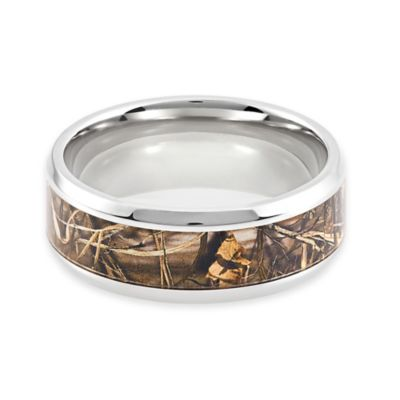 Lashbrook® Titanium Real Tree Max4 Camo Size 11 Men's Ring