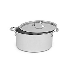 All-Clad Stainless Steel 8-Quart Covered Stock Pot