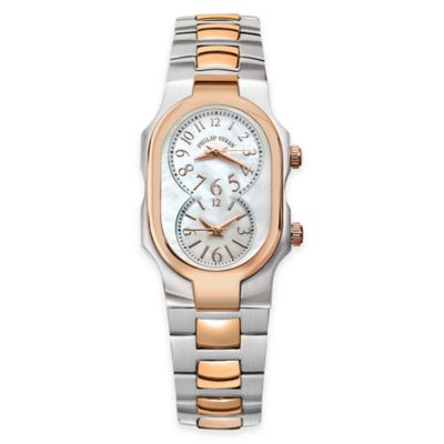 Rose Gold Pearl Watch