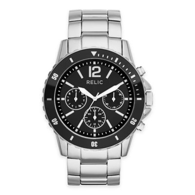 Silver White Multifunction Watch