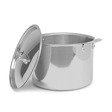 All-Clad Stainless Steel 12-Quart Covered Stock Pot