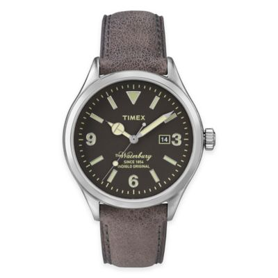 Brown Waterbury Watch