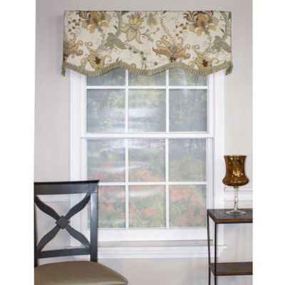 Floral Window Treatments
