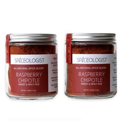 Spiceologist 2-Pack Raspberry Chipotle Rub