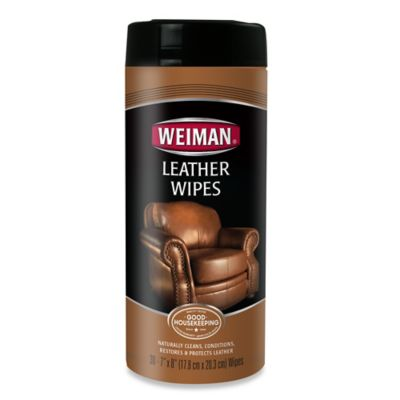 Weiman® Leather Wipes