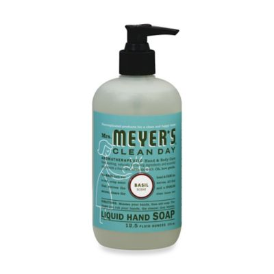 Mrs. Meyer's® 12.5 Oz. Clean Day Basil Scented Liquid Hand Soap