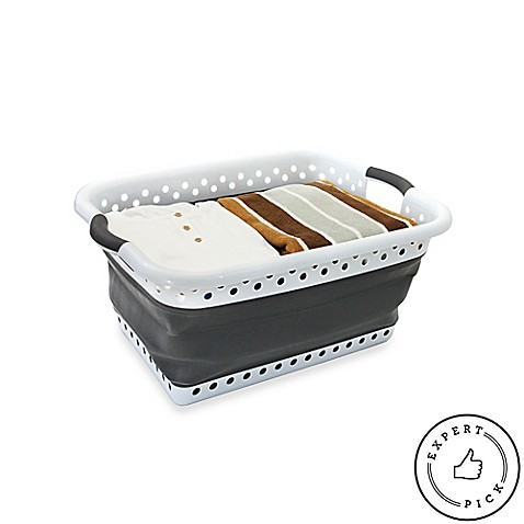 Collapsible Laundry Basket - BedBathandBeyond.com