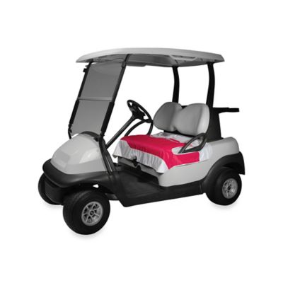 Golf Cart Seat Blanket in Pink
