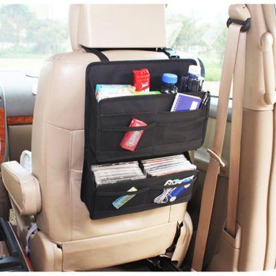 home basics® Expandable Backseat Organizer in Black
