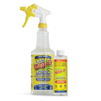 The Amazing Whip-It® 32 oz. Multi-Purpose Stain Remover with Bonus 8 oz. Concentrate