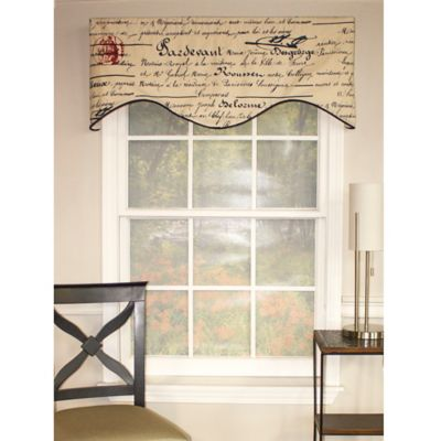 Navy Blue Valances for Windows