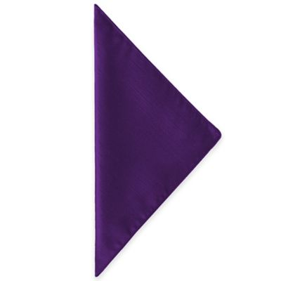 Majestic Napkins in Purple (Set of 4)