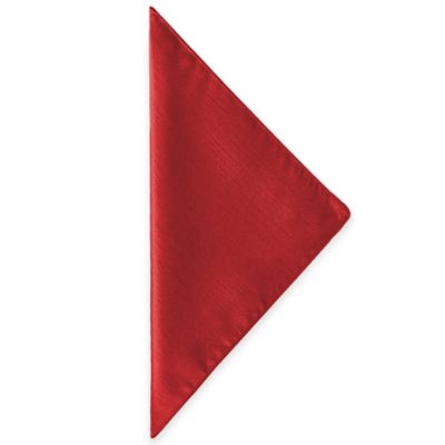 Majestic Napkins in Holiday Red (Set of 4)