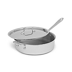 All-Clad Stainless Steel 4-Quart Saute Pan