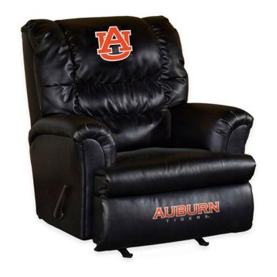 University of Auburn Leather Big Daddy Recliner