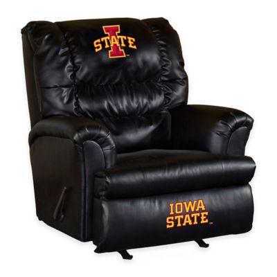 Iowa State University Leather Big Daddy Recliner