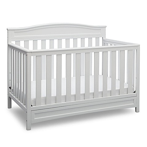 Delta Emery 4 In 1 Convertible Crib In White Www