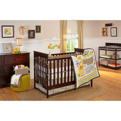NoJo® Zoobilee 4-Piece Crib Bedding Set