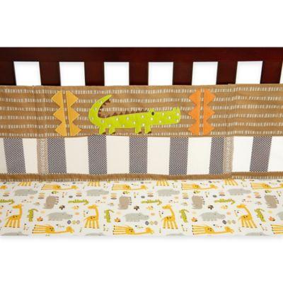 NoJo® Zoobilee Secure-Me Crib Liner