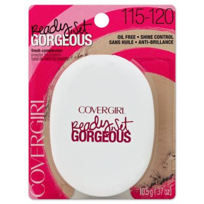 CoverGirl® 0.37 oz. Ready, Set Gorgeous Compact Powder Foundation in Light 115/120