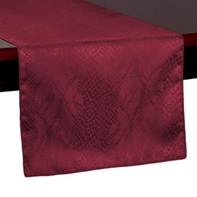 Kenya 54-Inch Table Runner in Jungle Green