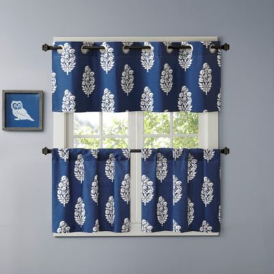 Tier Valance Kitchen Curtains