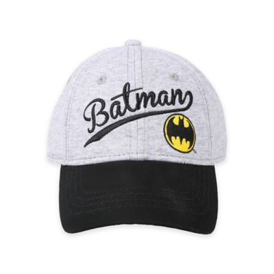 DC Comics™ Batman Baseball Cap in Heather Grey
