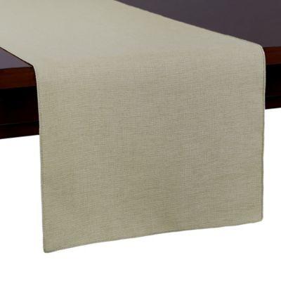 Havana 54-Inch Table Runner in White