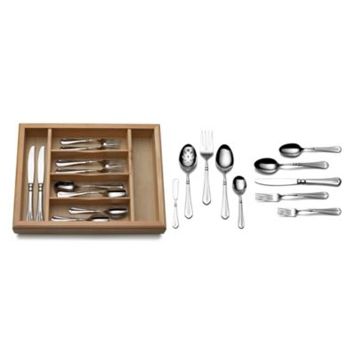 Mikasa® French Countryside 65-Piece Flatware Set