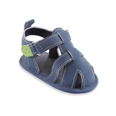 BabyVision® Luvable Friends™ Size 12-18M Fisherman's Sandal in Navy
