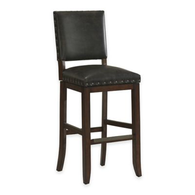 American Heritage Sutton Swivel Counter Stool in Suede