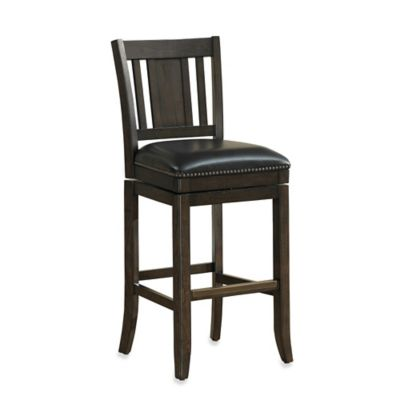 American Heritage San Marino Swivel Barstool in Riverbank