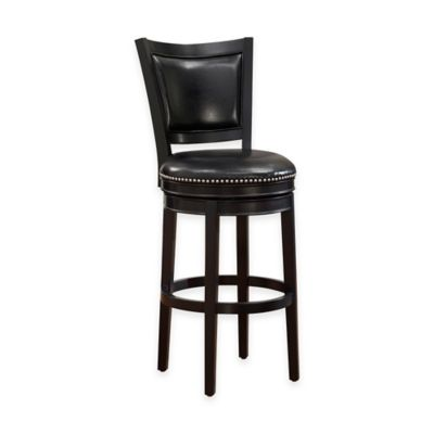 American Heritage Shae Counter Stool in Black