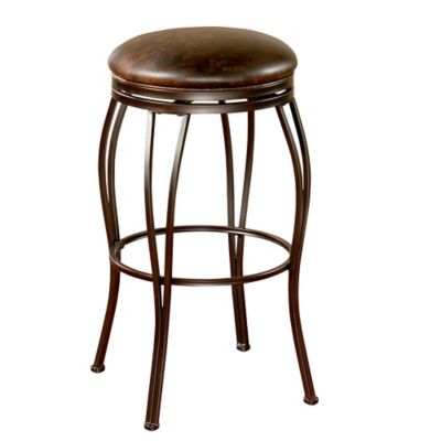 American Heritage Romano Counter Stool in Coco